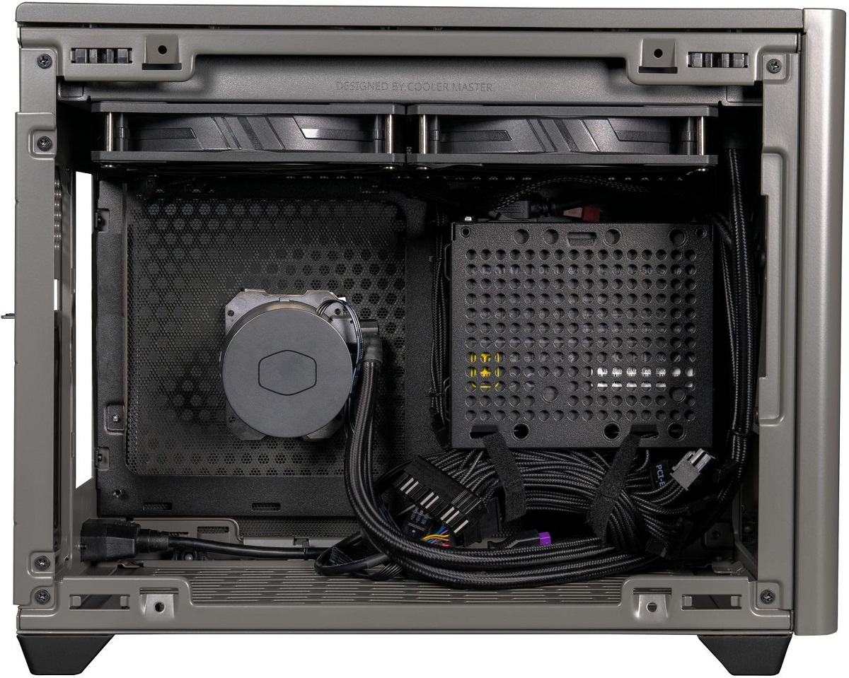 Cooler Master поставляет корпус MasterBox NR200P MAX с блоком питания и СЖО