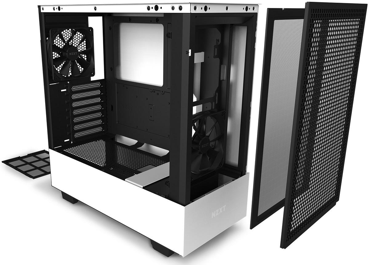 NZXT выпустила корпус H510 Flow с улучшенной вентиляцией