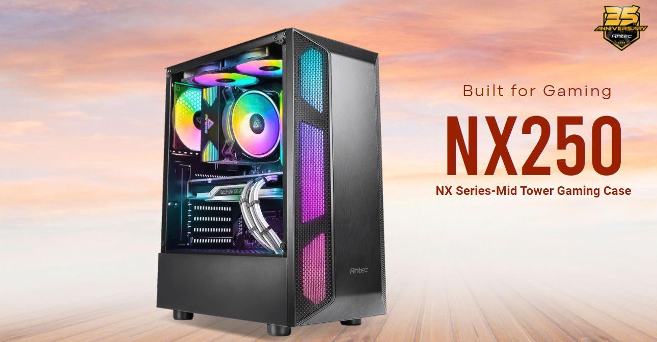 Antec выпустила недорогой корпус NX250 для игровых ПК