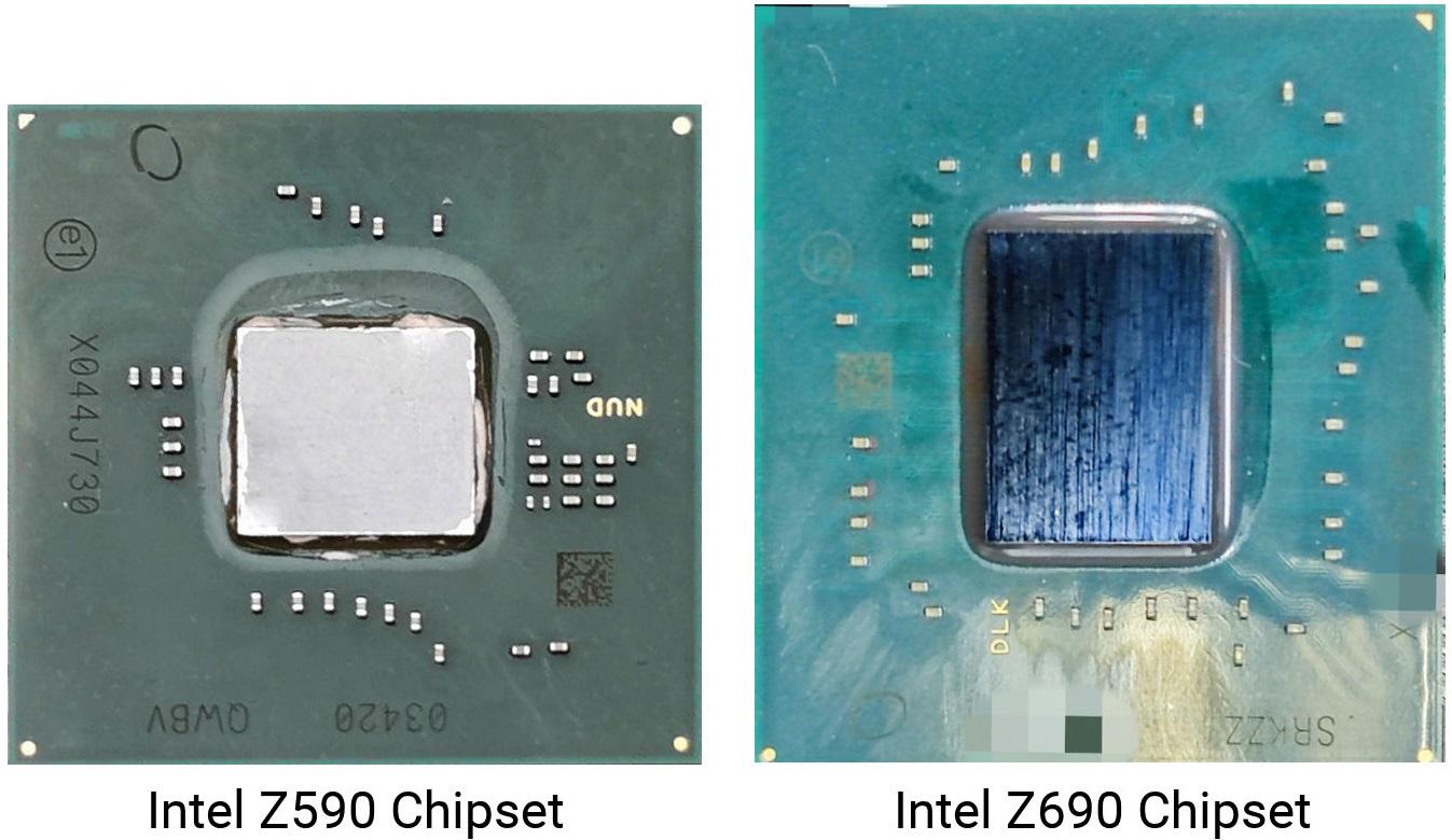 Первый взгляд на микросхему логики Intel Z690 для плат LGA1700