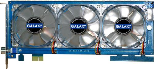 Galaxy fan-card