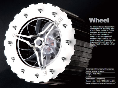 Кулер Thermalright Wheel