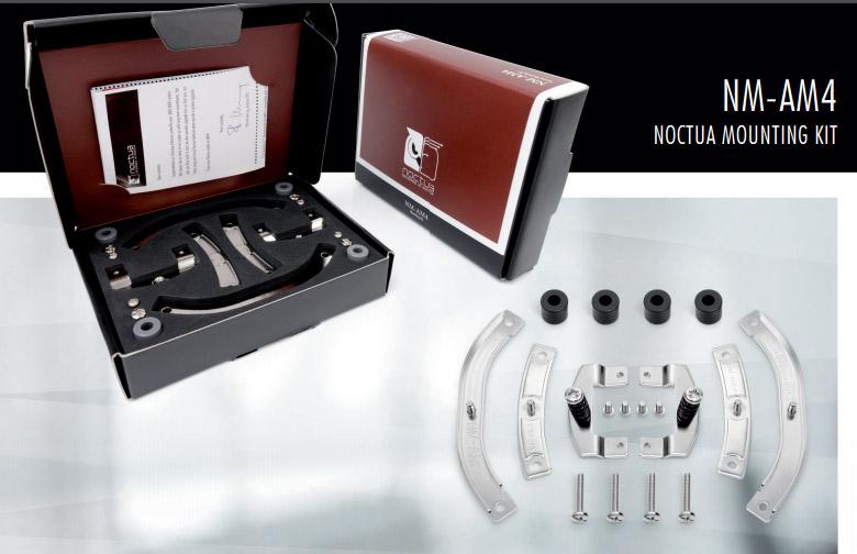 Noctua обеспечивает владельцев фирменных кулеров бесплатными крепёжными комплектами для сокета AM4