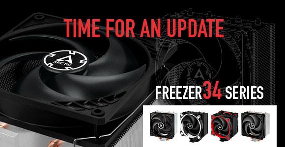 Arctic представила линейку кулеров Freezer 34