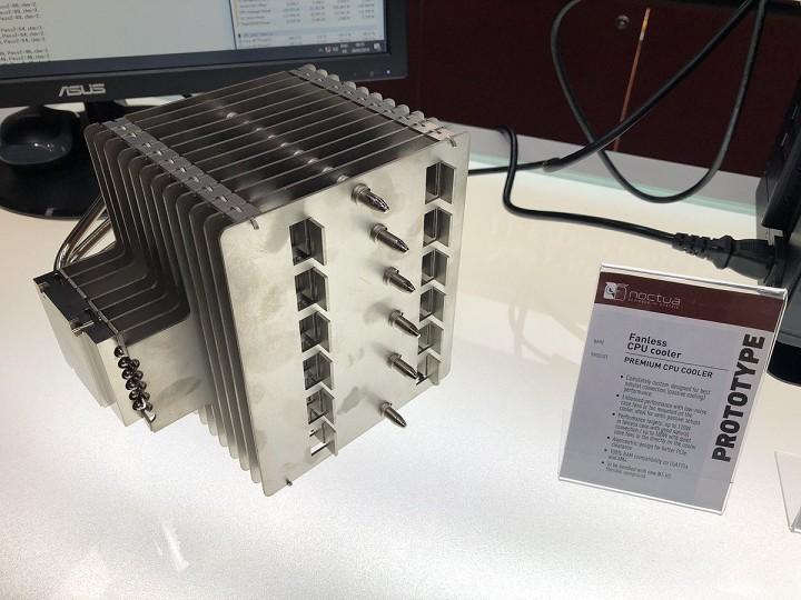 Noctua работает над пассивным CPU-кулером массой 1,5 кг