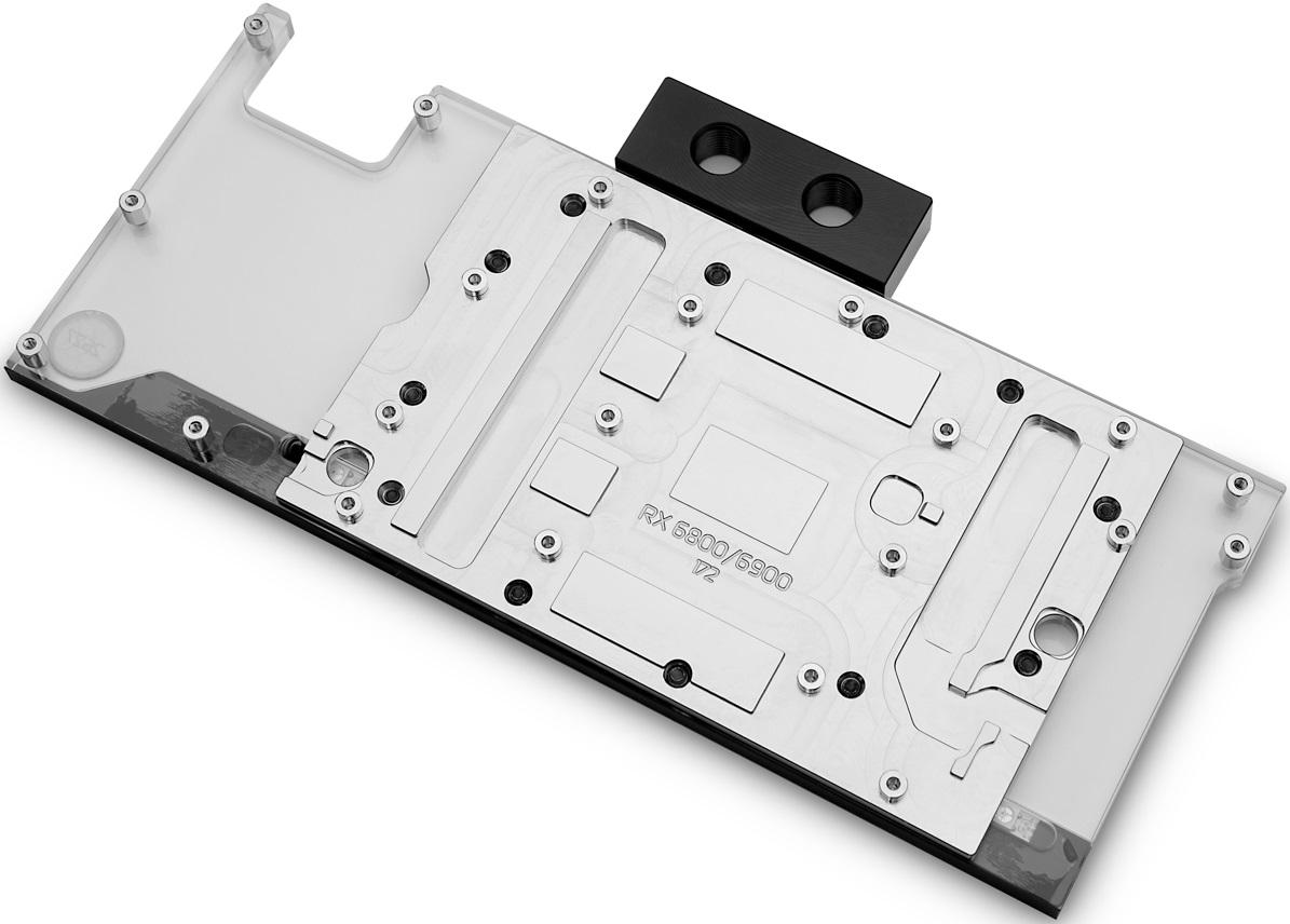 EKWB предлагает водоблок линейки EK-Classic для старших карт Radeon RX 6000