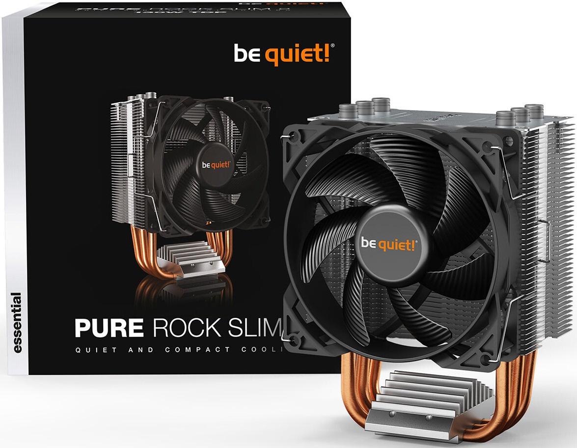 be quiet! выпустила CPU-кулер Pure Rock Slim 2 и радиаторы MC1 для накопителей M.2