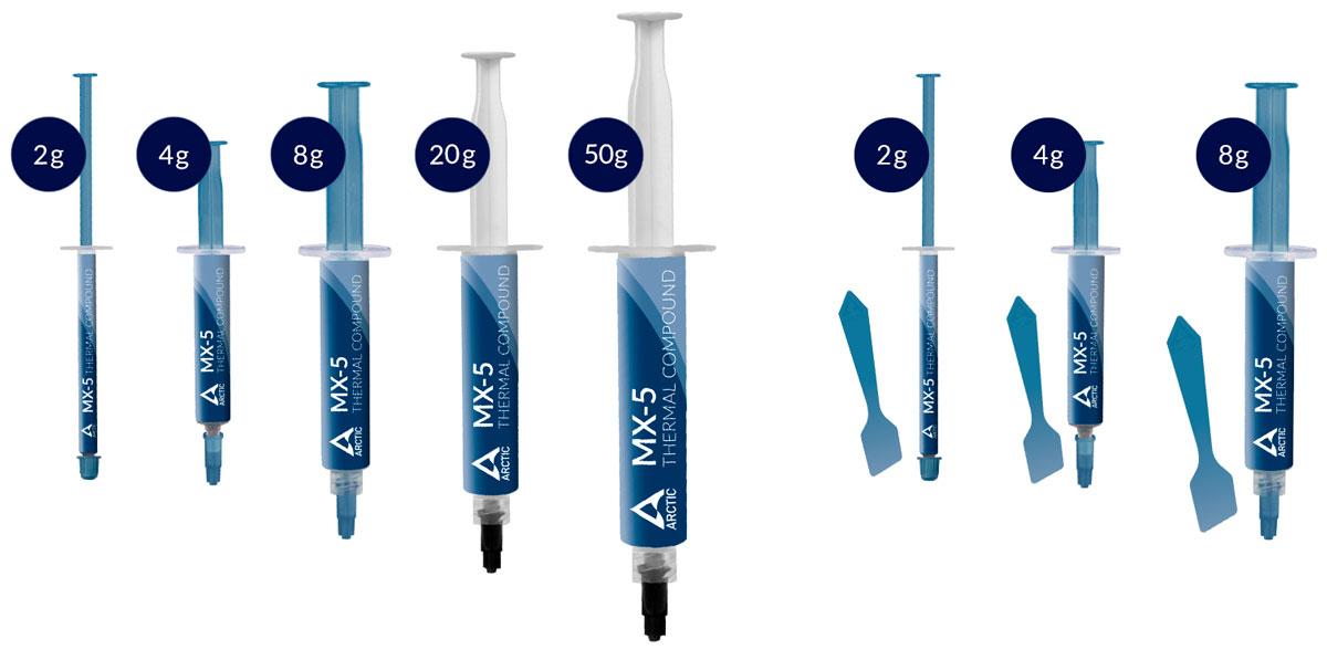Arctic начала продажи термопасты MX-5