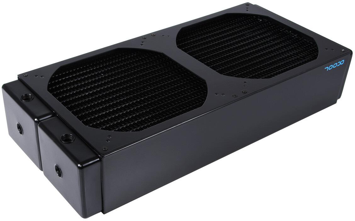 Радиатор СЖО Alphacool NexXxoS UT60 Nova 1080 поддерживает девять 120-мм вентиляторов