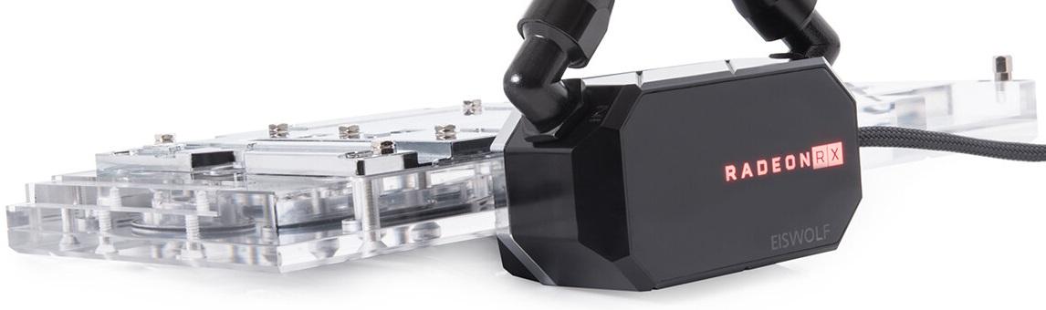 Alphacool предлагает готовые СЖО Eiswolf 2 для старших видеокарт GeForce и Radeon