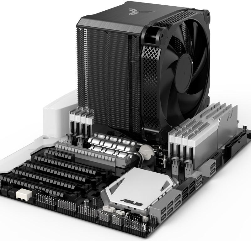 Система охлаждения Jonsbo HX6250 рассчитана на процессоры c TDP до 250 Вт
