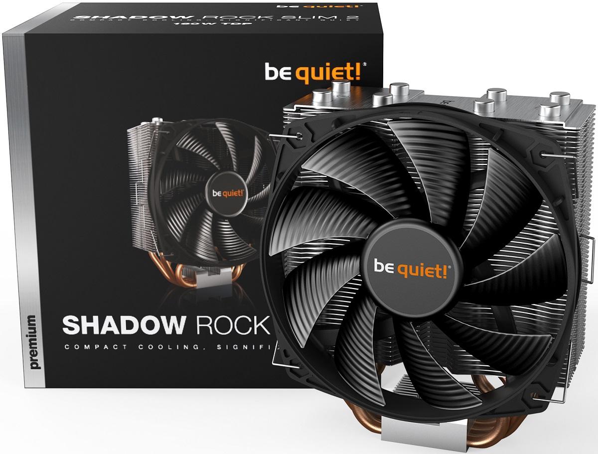 be quiet! выпустила систему охлаждения Shadow Rock Slim 2