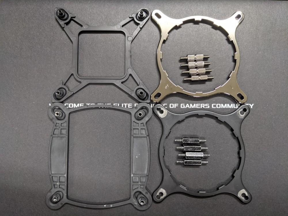 ASUS комплектует системы охлаждения ROG Strix LC II креплением под Intel LGA1700