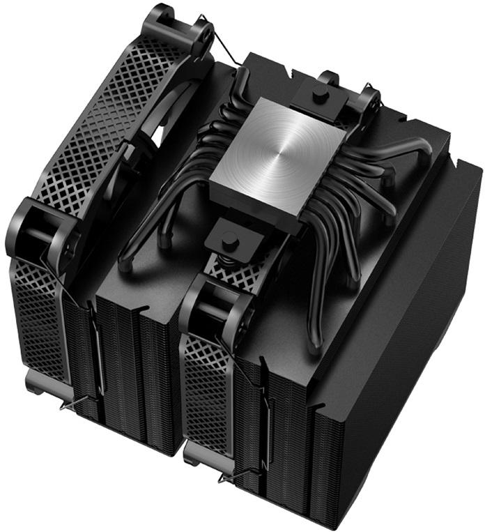 Jonsbo HX7280 — двухсекционная «башня» для 280-ваттных процессоров