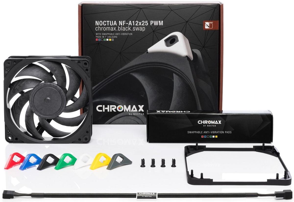Noctua выпустила процессорный кулер NH-U12A в модификации chromax.black