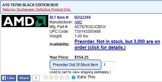 A10-7870K — цена