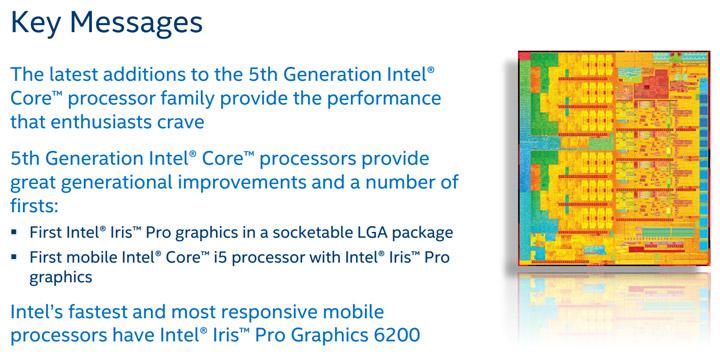 Процессоры Intel Core i7-5775C и Core i5-5675C