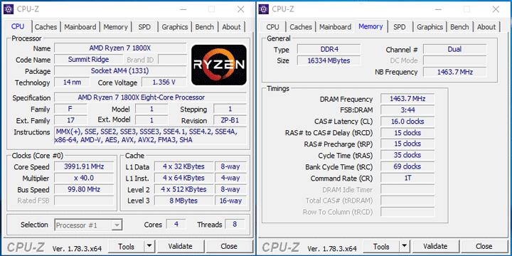 Характеристики AMD Ryzen 7 с отключенными ядрами