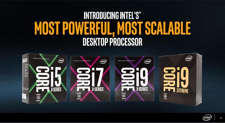 Intel официально представила платформу X299 Basin Falls вместе с процессорами Skylake-X и Kaby Lake-X
