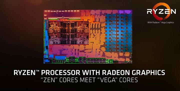 AMD представила мобильные CPU Raven Ridge совстроенной графикой Vega