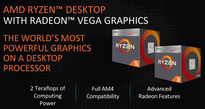 AMD Picasso для платформы AM4: характеристики гибридных чипов Ryzen
