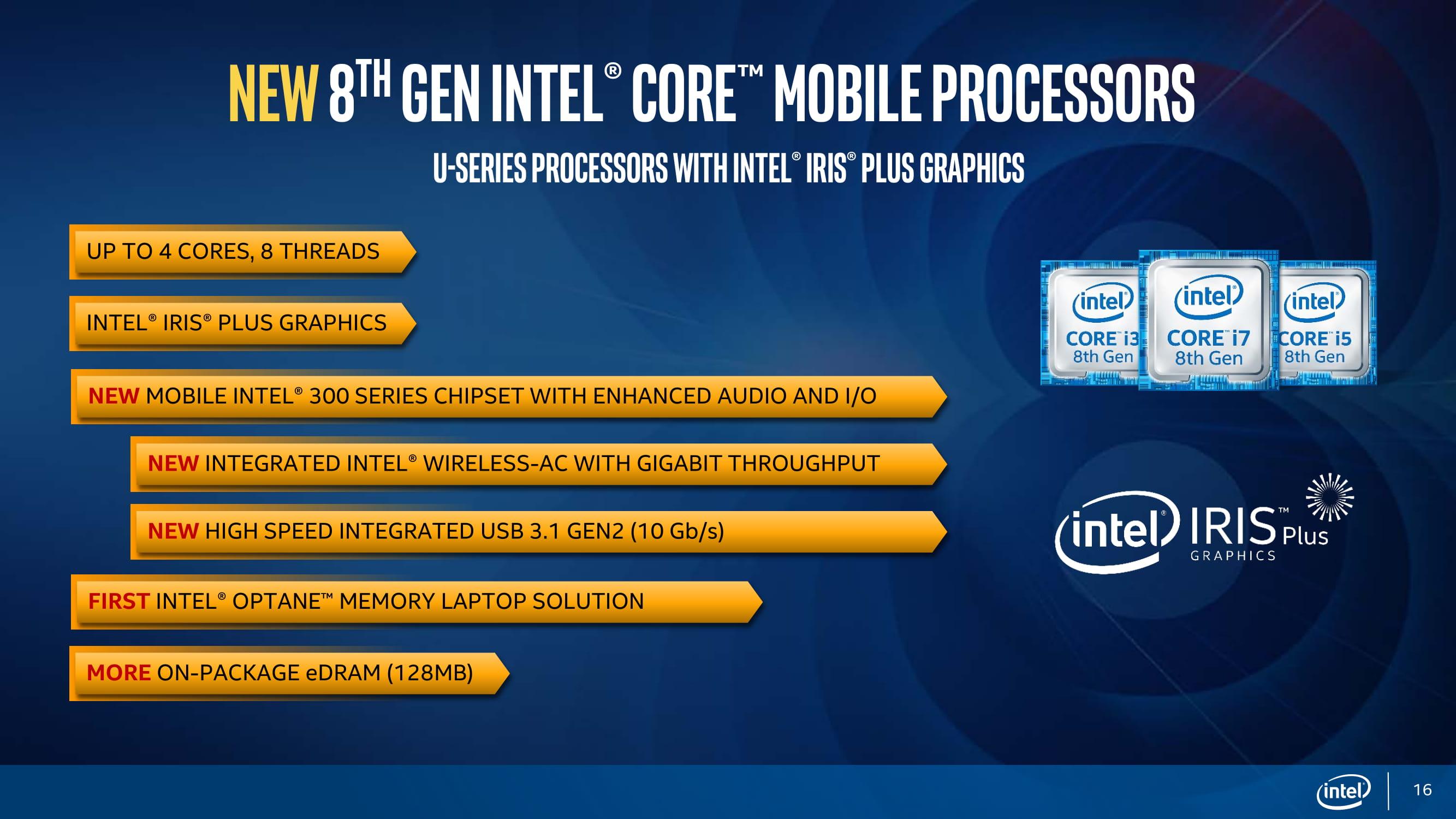 Intel представила процессор Core i9 для ноутбуков