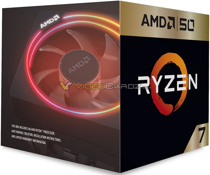 AMD Ryzen 7 2700X 50th Anniversary