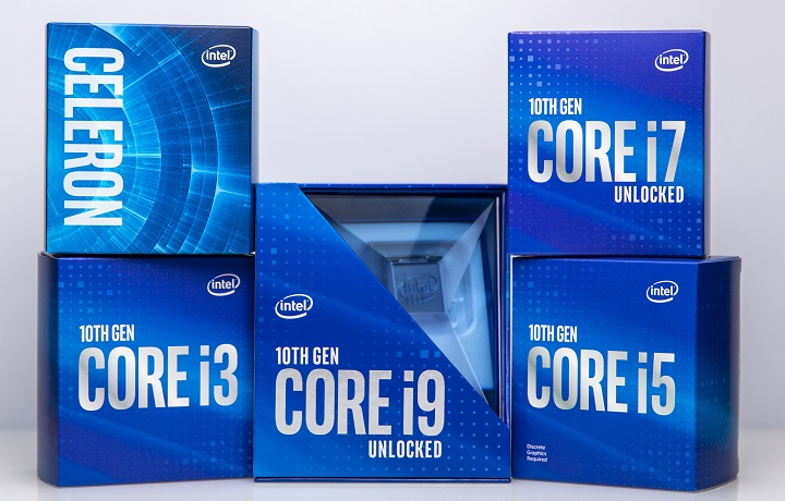 Процессоры Intel Core 10-го поколения ощутимо подешевели