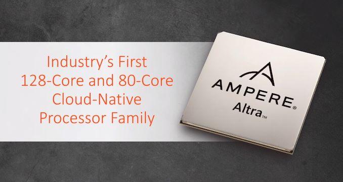 До конца года Ampere Computing обещает выпустить 128-ядерные ARM-процессоры Altra