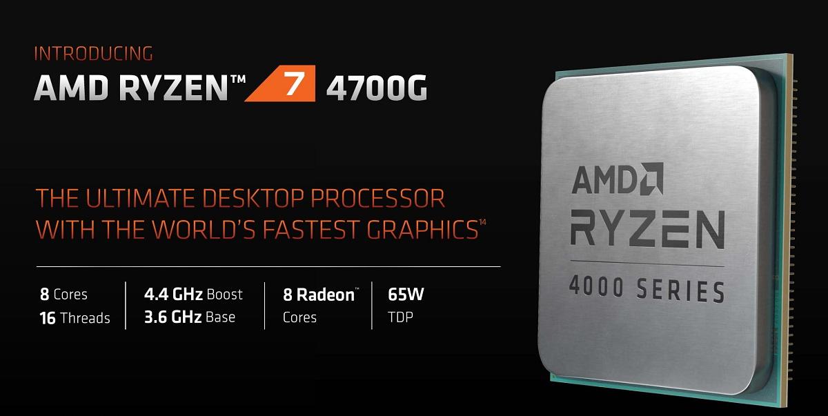 AMD Ryzen 4000G
