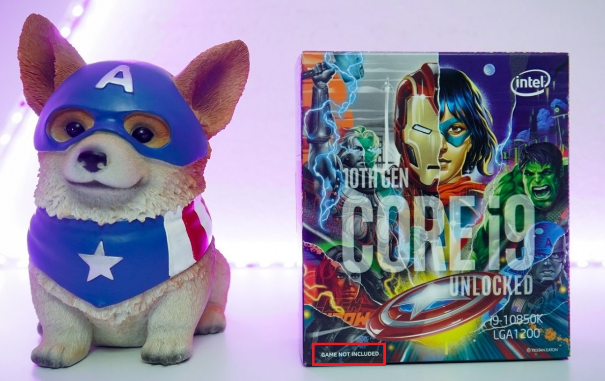 Intel Core Avengers Edition