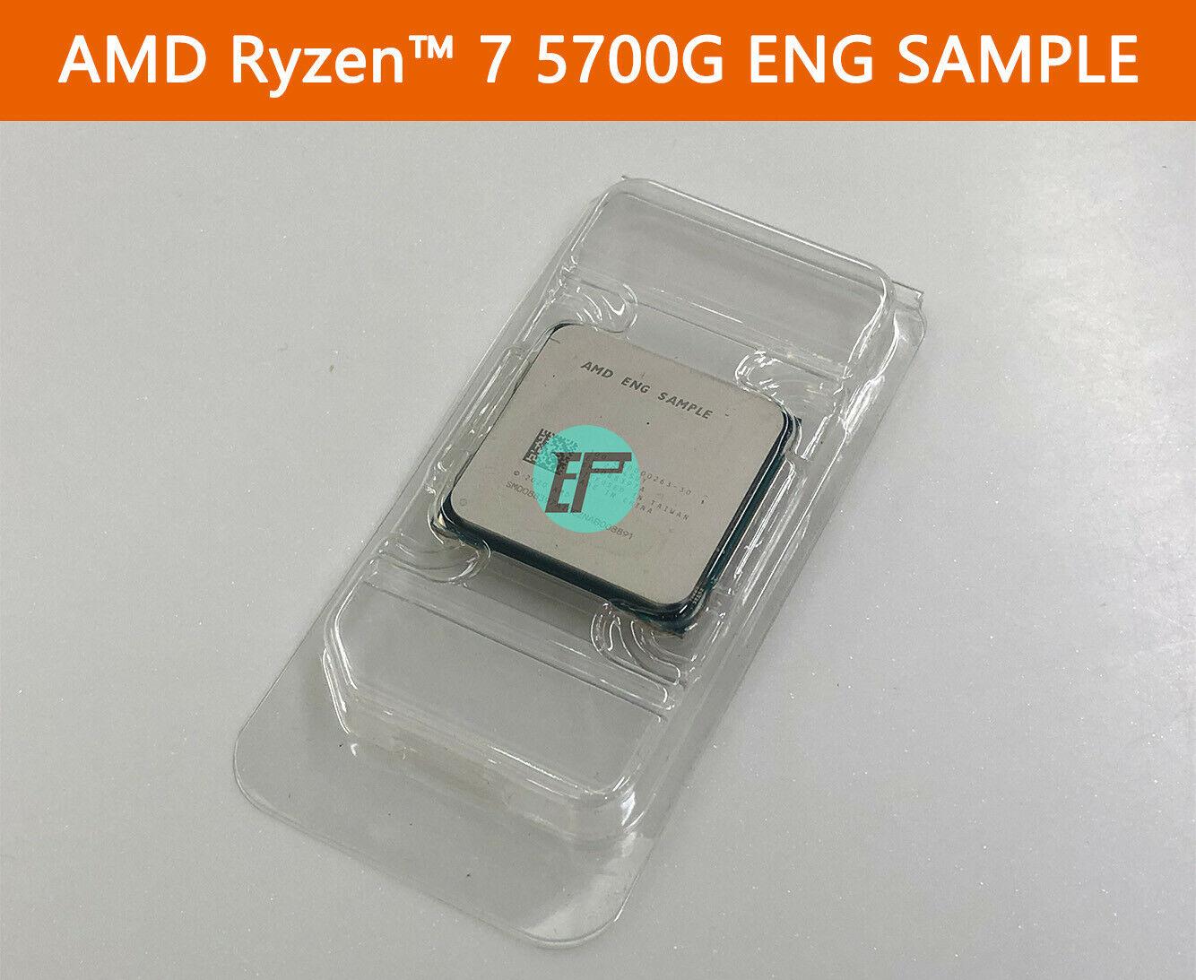 Инженерный образец AMD Ryzen 7 5700G продаётся на eBay