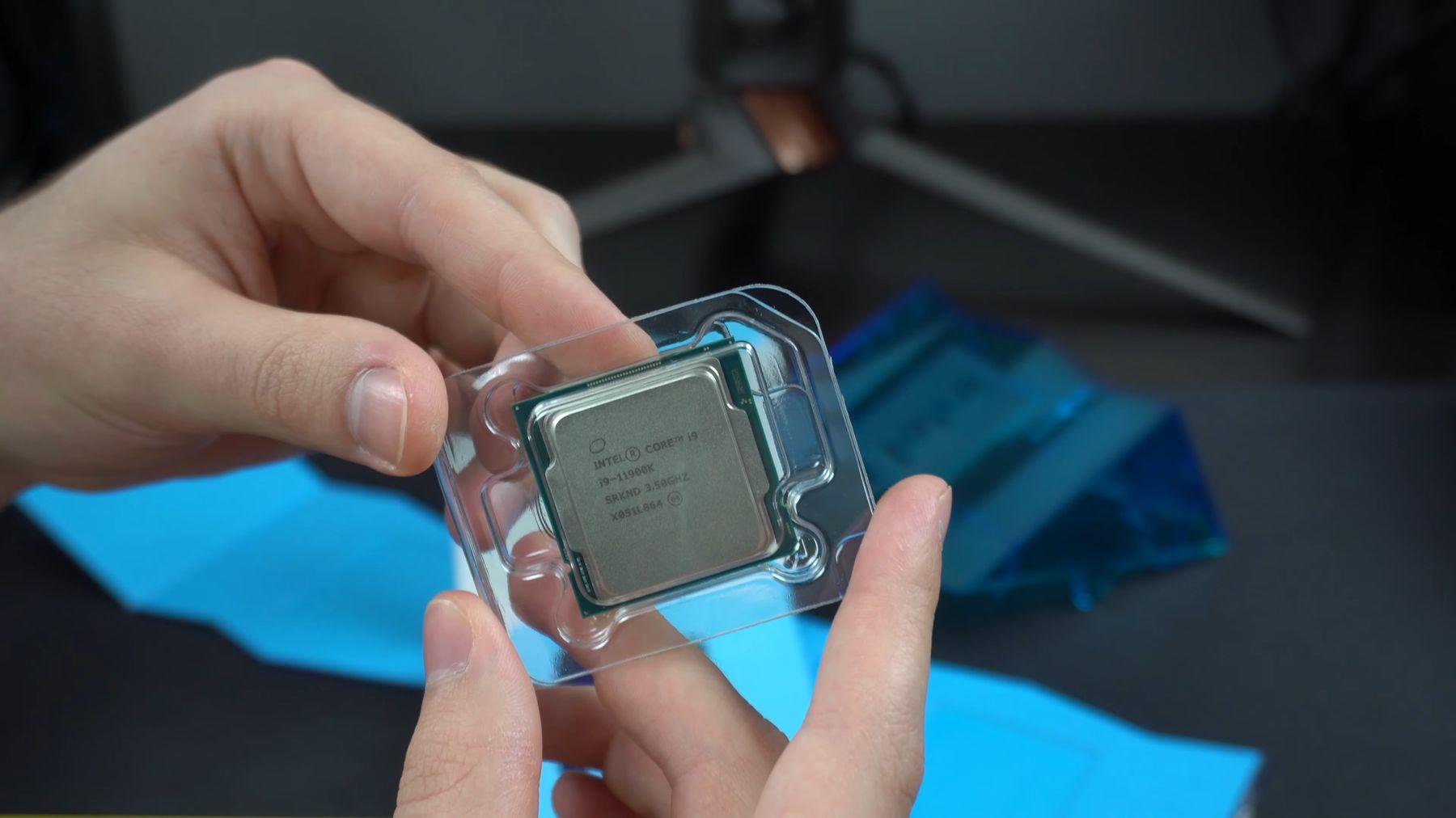 Флагманский Intel Core i9-11900K уже поступает к первым владельцам
