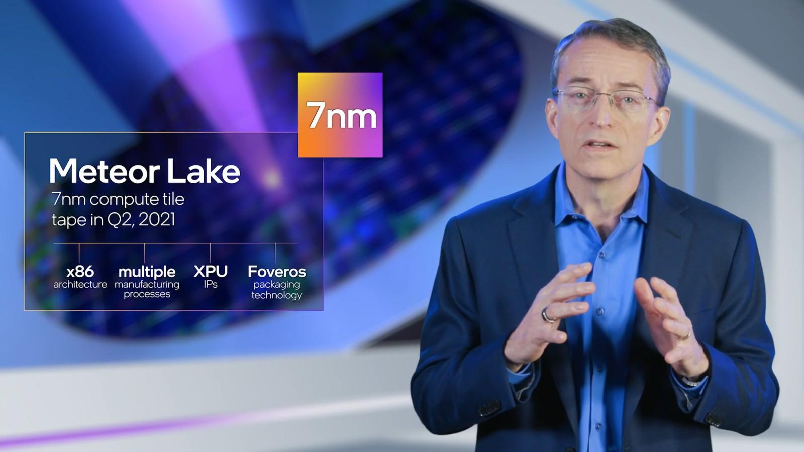Intel Meteor Lake: потребительские CPU на 7-нм техпроцессе выйдут в 2023 году