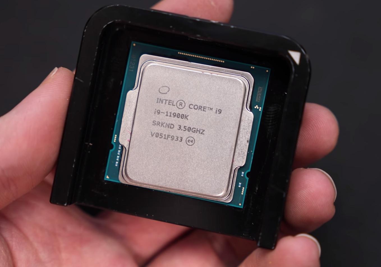 «Скальпирование» Intel Core i9-11900K помогло снизить температуру на 12°C