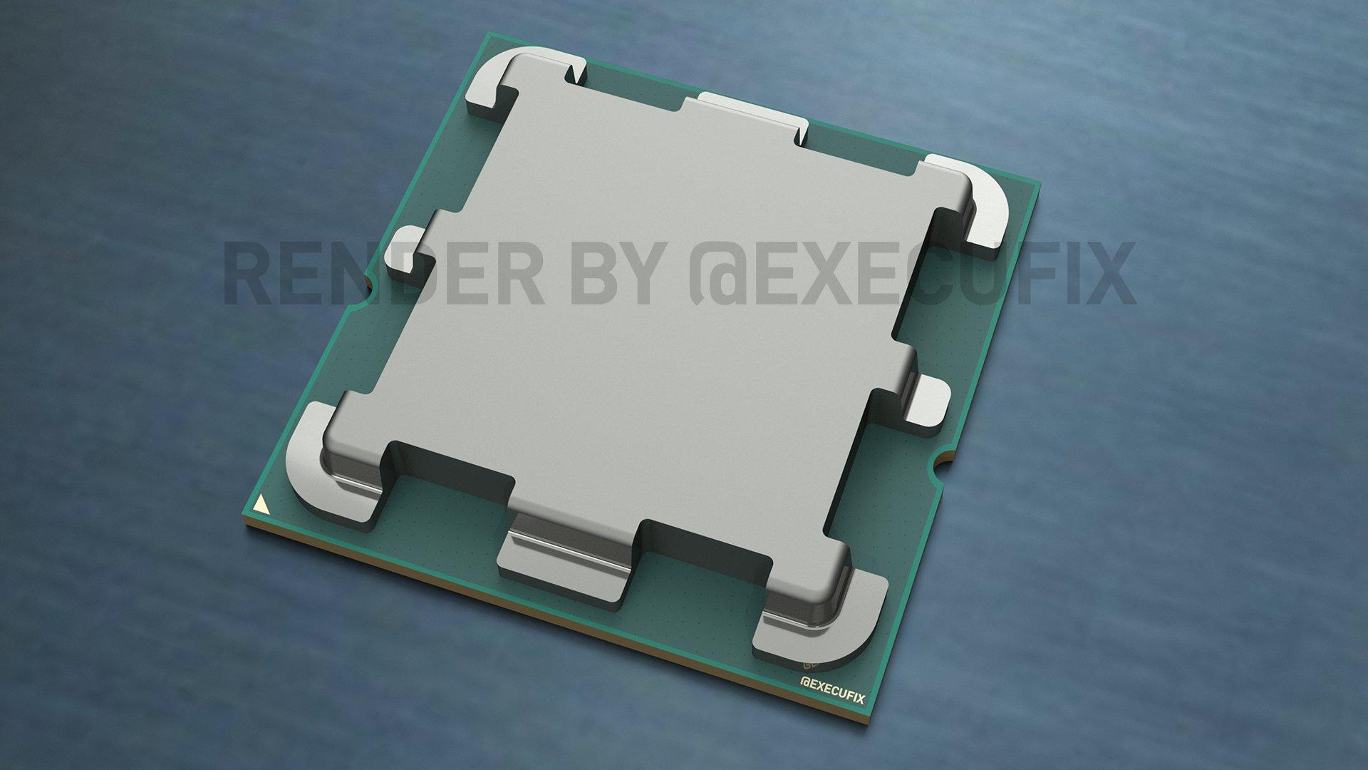 Слух: AMD кардинально изменит теплораспределительную крышку у будущих CPU