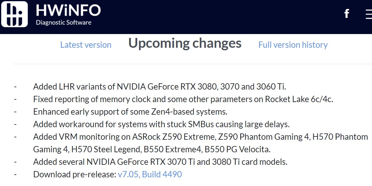 Разработчики HWiNFO готовятся к выходу процессоров AMD Zen 4
