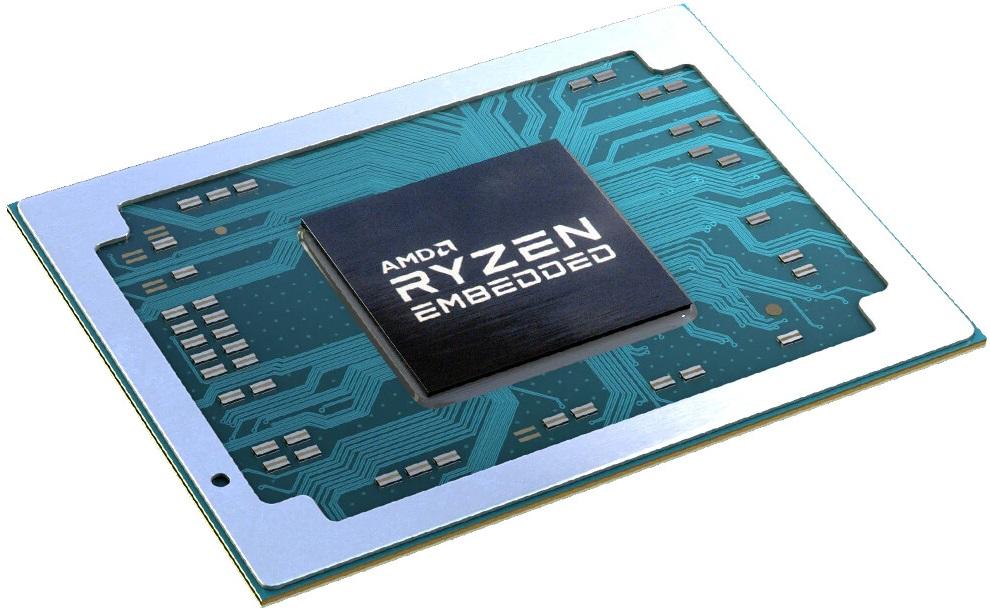 AMD Ryzen Embedded V3000 получат до восьми ядер Zen 3, графику RDNA 2 и поддержку DDR5