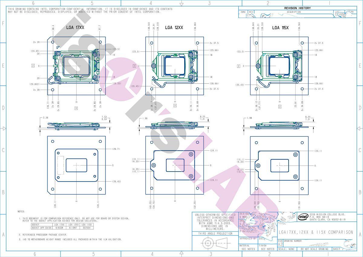 Ещё раз о конструктивных особенностях процессорного разъёма Intel LGA1700