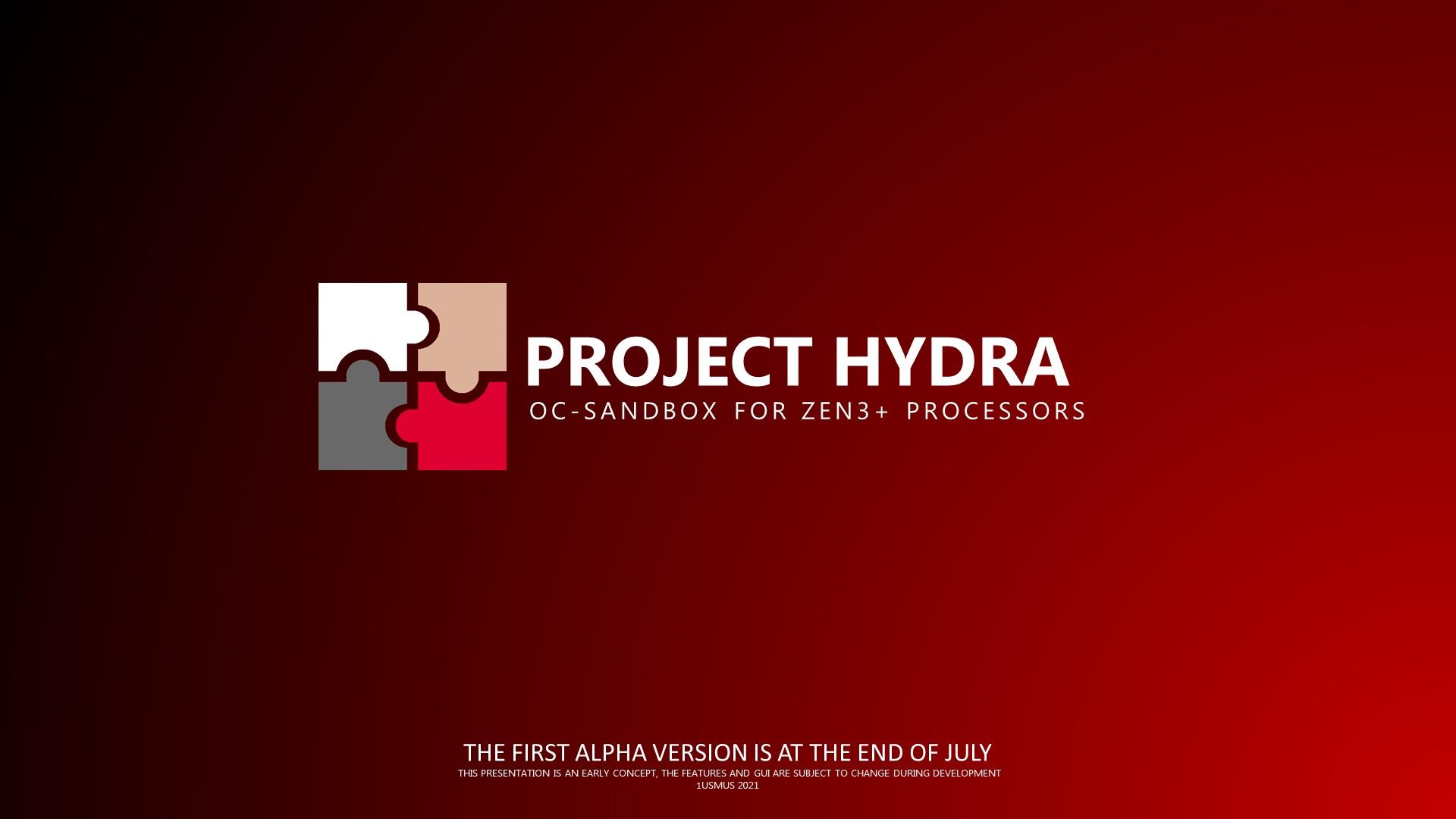 Project Hydra — инструмент для разгона процессоров AMD Zen 3 и Zen 3+