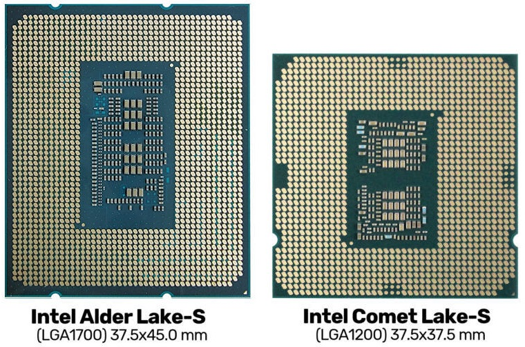 Изучаем процессорный разъём LGA1700 для будущих CPU Intel
