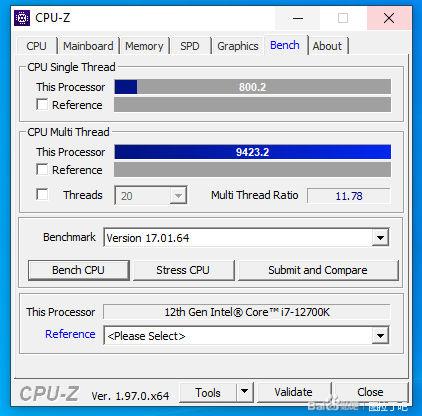 Свежая порция тестов Intel Core i7-12700K