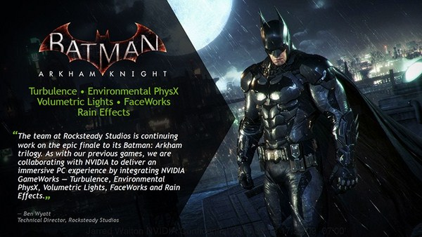 NVIDIA Batman: Arkham Knight