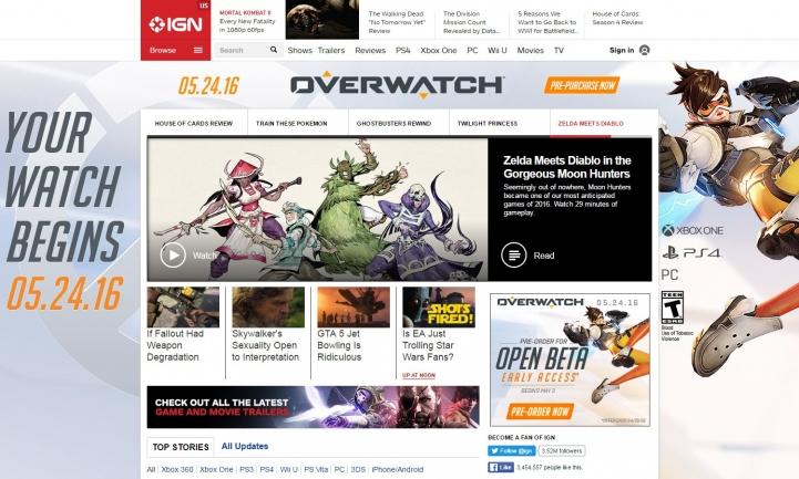 Названа реальная дата выхода игры Overwatch