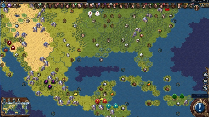 карта земли civilization 6 скачать
