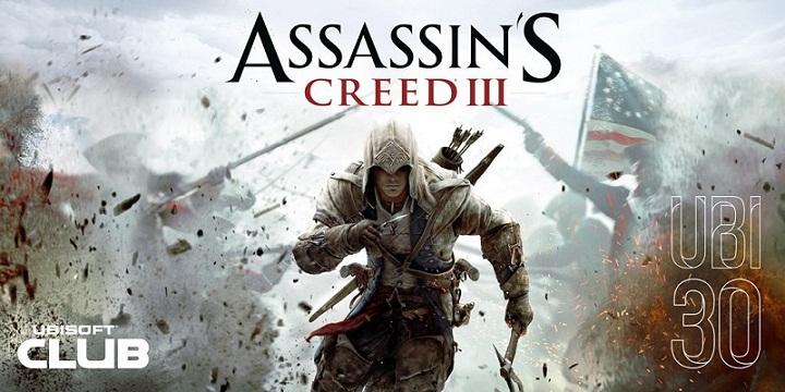 Assassin's Creed 3 будет последним подарком отUbisoft вчесть 30-летия