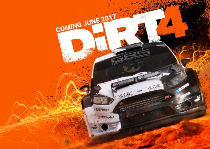 Стали известны подробности выхода гоночного симулятора DiRT 4