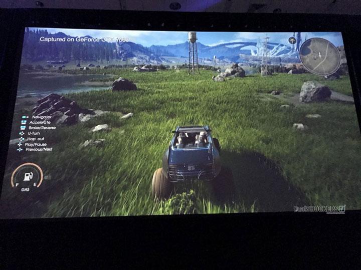 НаПК впервый раз показали новейшую Final FantasyXV