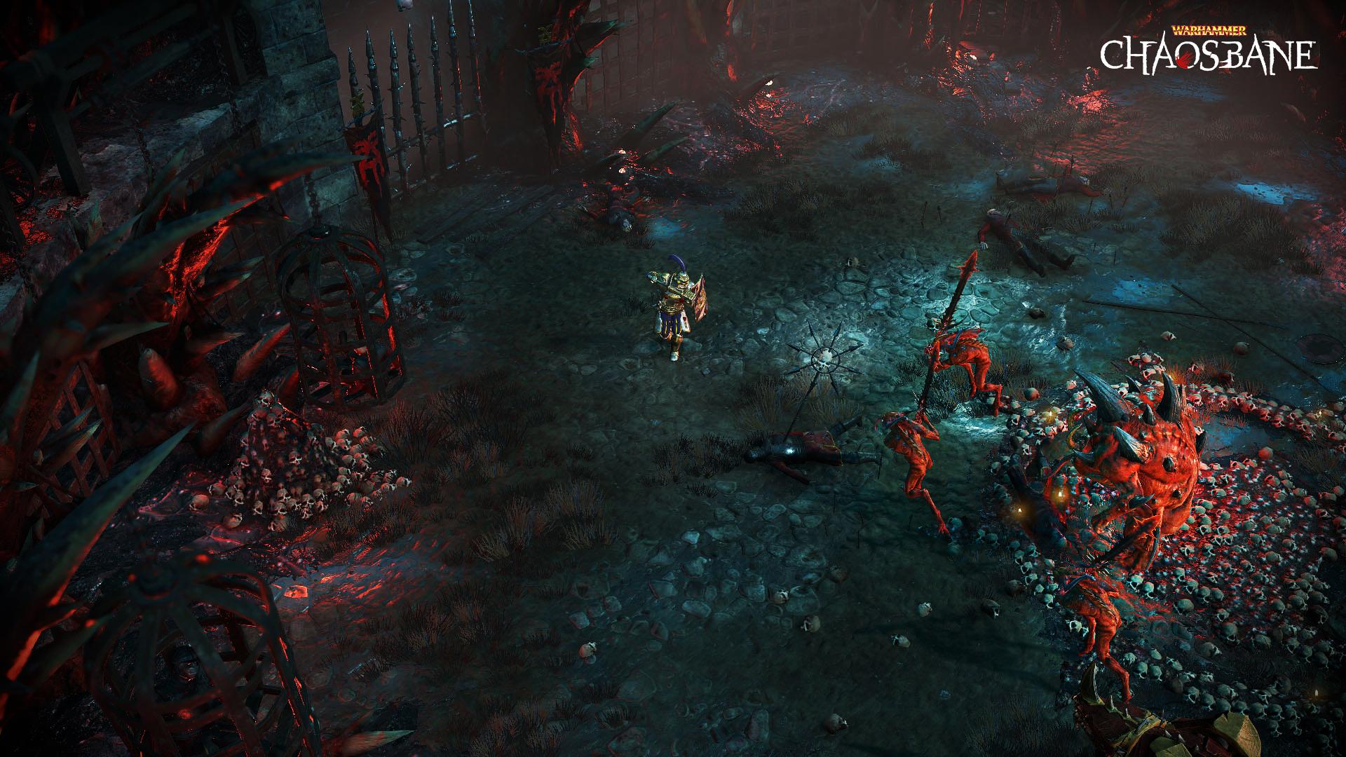 Анонсирована экшен-RPG Warhammer: Chaosbane
