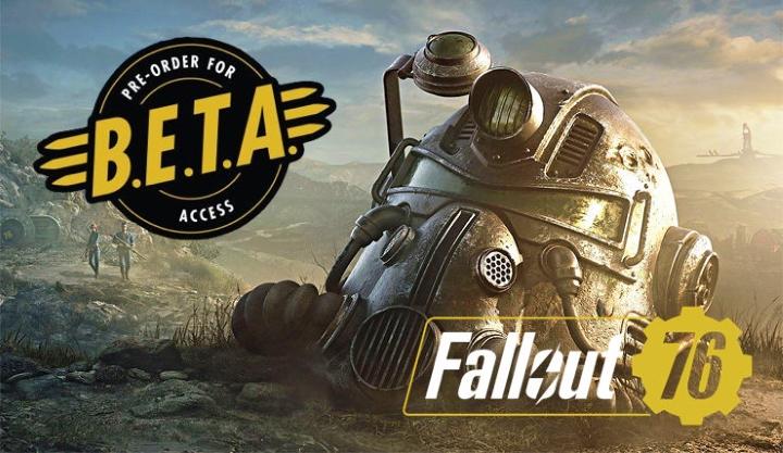 Бета-тест Fallout 76 стартует через месяц
